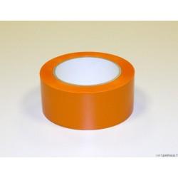 Suojausteippi, oranssi, pvc, 50mmx33m, 100my