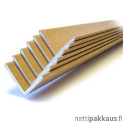 Kulmasuoja, 50x50x5x1500mm,  ruskea kartonki