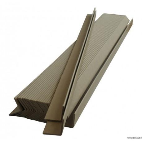 Kulmasuoja, 45x45x2x1100mm, valkoinen, kosteudenkestävä, vahva